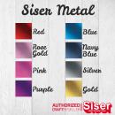 Flexfolie Siser Metal DIN A4 (21x30cm)